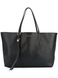 Alexander Mcqueen Skull Shopper Tote Women Calf Leather Leather One Size Black