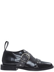 Paco Rabanne Derby Buckle Shoes Black