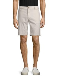 Tailor Vintage Classic Slim Shorts Brushed Nickel