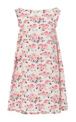 Emilia Wickstead Lucia Floral Printed Midi Dress Multi