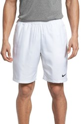 Nike Men's Tennis Shorts White Black