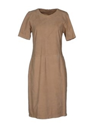 Aquascutum London Aquascutum Knee Length Dresses Beige