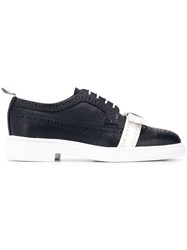 Thom Browne Bow Detail Lightweight Brogues Blue