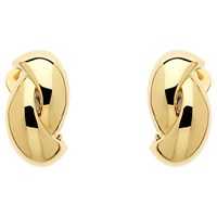 Monet Twist Clip On Earrings Gold