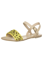 Chocolate Schubar Electra Sandals Sunshine Yellow