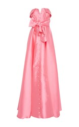 Alexis Mabille Strapless Belted Gown Pink
