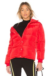 Lovers Friends Summit Puffer Red
