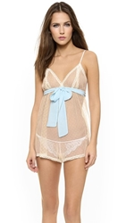 Only Hearts Club Coucou Lola Teddy Creme Blu