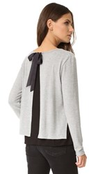 Generation Love Major Double Layer Sweater Grey Black