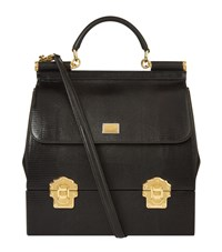 Dolce And Gabbana Top Handle Holdall Handbag Female Black