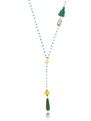 Katerina Psoma Rosary Necklace Green