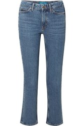 Mih Jeans M.I.H Daily High Rise Straight Leg Blue