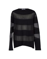 Bikkembergs Topwear Sweatshirts Men Black