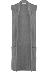 Tart Collections Melva Cotton And Cashmere Blend Vest Charcoal