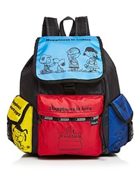 Le Sport Sac Lesportsac Voyager Backpack Snoopy And Friends