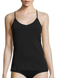 Naked Racerback Solid Camisole Black