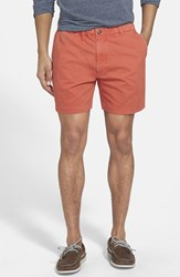 Men's Vintage 1946 'Snappers' Vintage Wash Shorts Coral