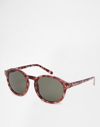 Cheap Monday Round Sunglasses Brown Turtle