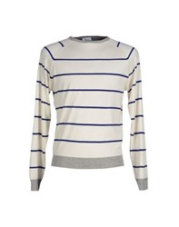 Heritage Knitwear Jumpers Men Ivory