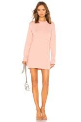 Cotton Citizen Tokyo Mini Dress Blush