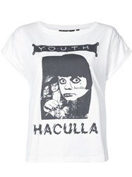 Haculla We Are The Youth T Shirt White
