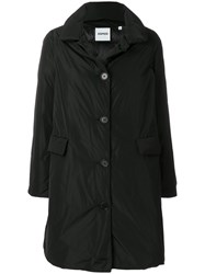Aspesi Cocoon Trench Coat Feather Down Polyester M Black