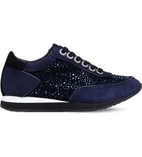 Carvela Lemmy Trainers Blue