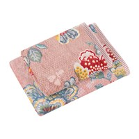 Pip Studio Berry Bird Towel Pink