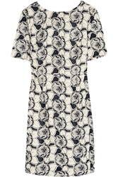 J.Crew Collection Floral Embroidered Cotton Dress