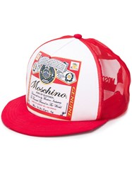 Moschino King Of Clothes Print Cap 60