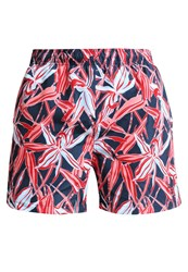 Gant Cape Flower Swimming Shorts Bright Red