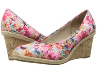 Lifestride Listed Pink Multi Women's Sandals