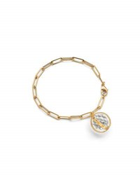 Monica Rich Kosann Carpe Diem Charm Bracelet In 18K Yellow Gold