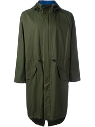 Julien David Midi Buttoned Parka
