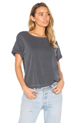 Joe's Jeans Hunter Crop Tee Black