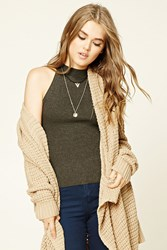 Forever 21 Mock Neck Sweater Top