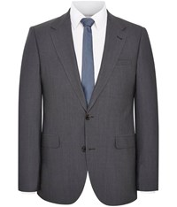 Austin Reed Plain Extra Slim Jacket Grey