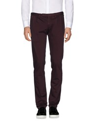 Germano Casual Pants Deep Purple