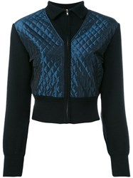 Jean Paul Gaultier Vintage Quilted Cropped Jacket Black