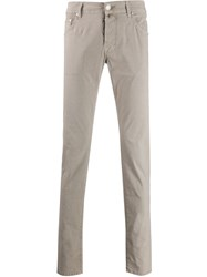 Jacob Cohen Skinny Fit Chinos Grey