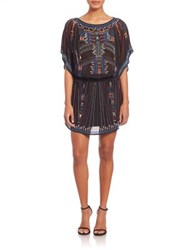 Parker Laurieanne Beaded Tunic Black