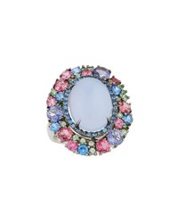 Diana M. Jewels 18K Mixed Moonstone Ring Size 6