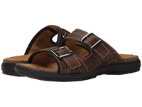 Clarks Un.Bryman Part Brown Leather Men's Sandals