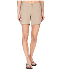 The North Face Amphibious Shorts Dune Beige Women's Shorts