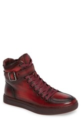 Jump Men's Sullivan High Top Sneaker Ruby