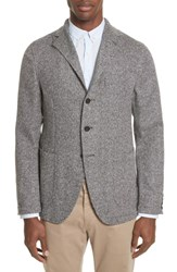 Eidos Napoli Wool Blend Sport Coat Black