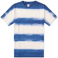 Head Porter Plus Tie Dye Border Tee Blue