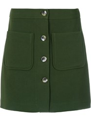 Olympiah Andes Skirt Green