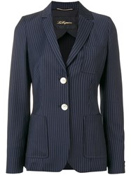 Les Copains Single Breasted Blazer Blue