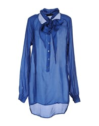 Manila Grace Shirts Blouses Women Pastel Blue